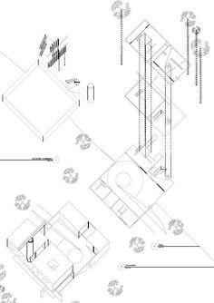 Hannah Mahony-Hayes: Rem Koolhaas, Bordeaux Drawings