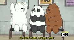Ice Bear knows. : Photo