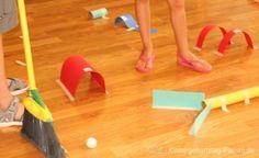 Indoor Minigolf | Kindergeburtstag planen | Bewegung Kinder kreativ
