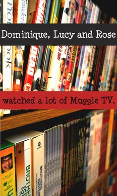 Dominique, Lucy and Rose watched a lot of Muggle TV.