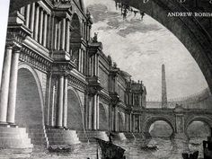 Piranesi Early Architectural Fantasies Book by  Andrew Robinson  Illustratated