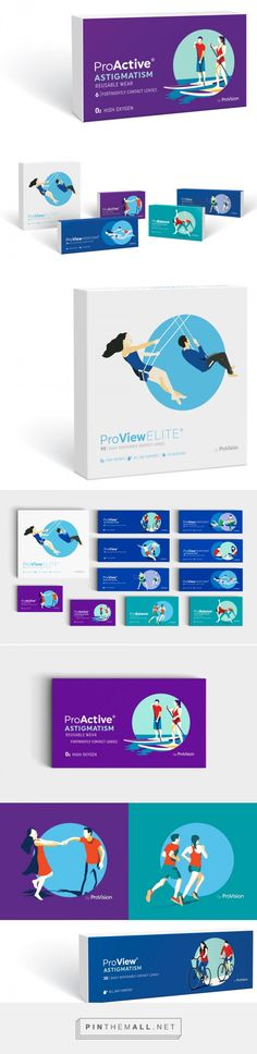 ProVision Contact Lenses — The Dieline - Branding & Packaging - created via https://pinthemall.net