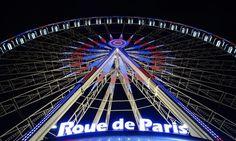 A Roda Gigante de Paris.