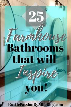 Get Inspired by these lookalike Fixer Upper Bathrooms! Reclaimed wood and shiplap are what dreams are made of! Dying at all these gorgeous farmhouse bathrooms! You will absolutely love this collection of modern farmhouse bathrooms. Home Depot, Pottery Barn, Modern Farmhouse Bathroom, Farmhouse Style Kitchen, Rustic Farmhouse, Farmhouse Remodel, Farmhouse Lighting, Industrial Farmhouse, Farmhouse Design