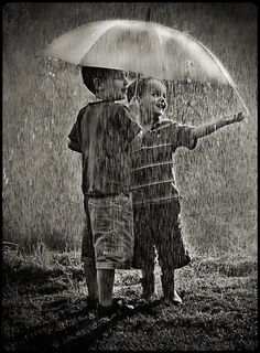 Even if your grown up go out and play in the rain