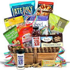 Memorial day gift basket wow this looks yummy and patriotic gluten free gift basket classic negle Choice Image