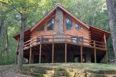 Gatlinburg log homes