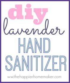 DIY Lavender Hand Sa