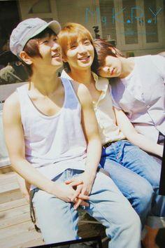 Yesung, Leeteuk and Heechul - Super Junior