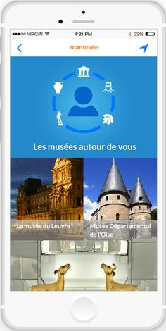 Samedi, pour profiter de la Nuit des Musées , choisissez un musée sur votre mobile grâce à la webapp www.Mamusee.com ! (développée avec les logiciels Antidot Information Factory et Antidot Finder Suite)