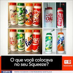 Squeezes da Coca Cola