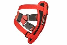 EzyDog Padded Chest Harness - comes with a seat belt adapter so you can use it as a safety restraint in the car! $26.00