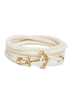 Whenver I'm in my nautical phase...I crave buying these kinds of bracelets! -Meesh
