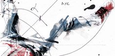 Scientific Break Dancing Drawings - Artist Florian Nicolle Illustrates Dance with Math Equations (GALLERY)