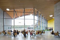 Multi-purpose school building for 750 pupils in Espoo, Finland.