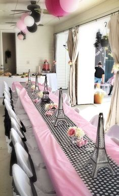 Poodles in Paris Birthday Party Ideas | Photo 1 of 8 | Catch My Party