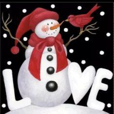 Christmas Canvas, Christmas Paintings, Christmas Snowman, Christmas Holidays, Christmas Ornaments, Snowmen Paintings, Xmas, Merry Christmas, Illustration Noel