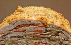 Шикарное блюдо для праздничного стола: достойно ресторана! Ингредиенты: Филе куриное — 500г, Морковь — 2шт, Лук — 1шт, Картофель —