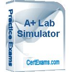 CertExams.com Updates CompTIA A+ Lab Simulator with 30+ New Lab Exercises.    Sample lab exercises are available at: http://routersimulator.certexams.com/Aplus-labsim/labs/motherboard-aplus-lab-simulator.html    Demo version may be downloaded at: http://routersimulator.certexams.com/Aplus-labsim/download-aplus-lab-simulator.html