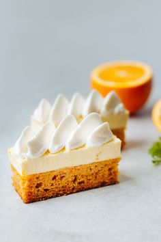 Carrot Cake with White Chocolate Mousse | Bake-No-Fake