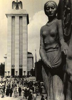 Vue de Paris. Exposition internationale de 1937