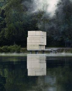 """""""Lake Rotsee Refuge"""" byAFGH Architects"""