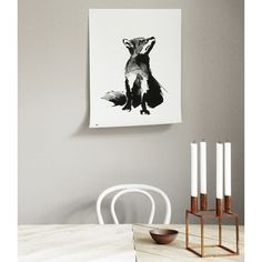 Teemu Järvi Illustrations Fox poster, 50 x 70 cm | Posters | Decoration | Finnish Design Shop