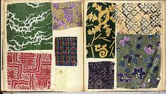 Textile Sample Book Date: early 20th century Culture: French