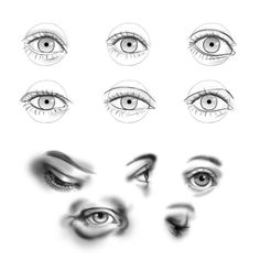 how to draw closed eyes realistic