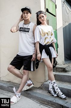 Kim Sae Ron and Lee Tae Hwan - TBJ S/S 2015