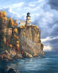The Lighthouse On The Cliff Edge~ Rudi Reichard
