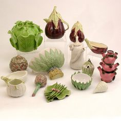 ceramic vegetables - Google Search