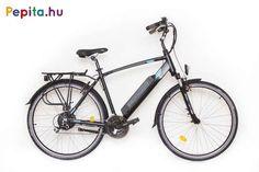 """A Neuzer elektromos kerékpár egy prémium minőségű anyagok felhasználásával készült termék.    Jellemzői:  - Kerékméret: 28""""  - Vázméret: 19""""  - Váz: AL6061 félintegrált akkus  - Villa: Suntour Nex E25 HLO 28""""  - Első fék: Promax V-fék  - Hátsó fék: Promax V-fék  - Hajtómű: Prowheel Alu/Alloy 48/38/28t  - Első váltó: Shimano TY510  - Hátsó váltó: Shimano Altus 8 SPD (8 sebesség)   - Váltókar/Shifters: Shimano Altus 3x8 SPD (8 sebesség)  - Első agy: Assessalu/Alloy  - Hátsó agy: Bafang sw02… Trekking, Bicycle, Vehicles, Bicycle Kick, Bike, Trial Bike, Hiking, Bicycles, Vehicle"""