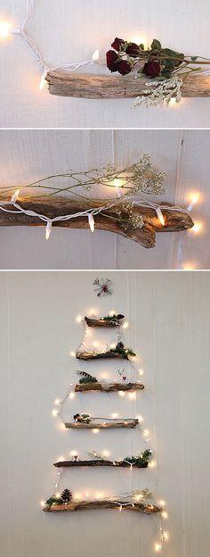 Decorações de Natal com luzes