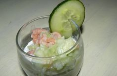 Recette - Verrines saumon / concombre | 750g