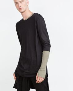 ZARA - MAN - 3/4 SLEEVE TOP