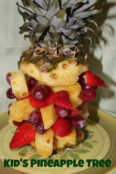 DIY Pineapple Tree Kids Recipe Activity ~ Lille Punkin'