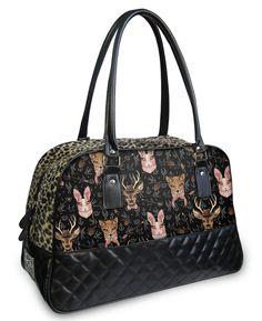 Liquor Brand Damen FORREST ANIMALS Handtasche/Bags.Oldschool,Tattoo,Pin up Style