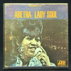 Aretha Franklin-aretha:lady soul - 3 3/4 IPS Stereo 4 Track Reel to Reel Tape