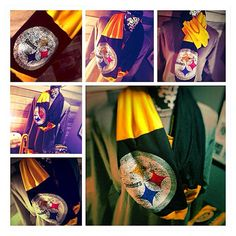 Vintage Steeler T-shirt Scarf from Funkykandoo! Find us on Facebook and Instagram