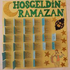 # Okul Öncesi Etkinlik - Ramazan Etkinliği ♡ Hoşgeldin Ramazan ♡ Alphabet Activities, Activities For Kids, Ramadan Mubarak, Ramadan Decorations, Origami, Diy And Crafts, Islam, Dekoration, Children Activities