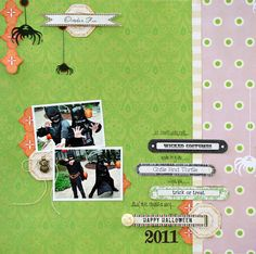New Once Upon a Halloween from Websters Pages - Scrapbook.com