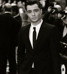 because he's chuck bass<3 <3