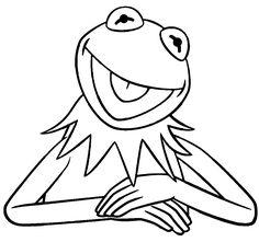 The Muppets Kermit the Frog Vinyl Decal Disney Pinterest