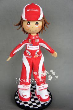 Poupée ST: Fernando Alonso
