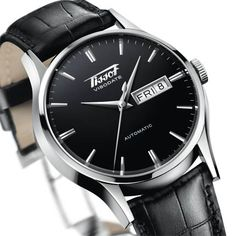 Tissot Visodate. A very sleek retro look.