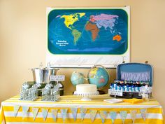 21 Fun Travel Themed Birthday Party Ideas