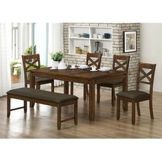 Milton Green Star Barcelona Wood Kitchen Bench & Reviews | Wayfair