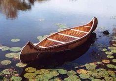 Ojibwe Longnose Hunting Canoe