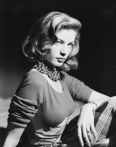 Lauren Bacall, 1940's.
